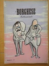 1954-IL BORGHESE-Direttore LEO LONGANESI-Anno V, Numero 13