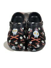 Mens Crocs Bistro Graphic Clog Eggs & Bacon Slip Resistant 204044 066 Size 9