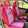 Cartoon Pink girl CAR SEAT COVERS the FRONT REAR COVER ACCESSORY SET 10PCS