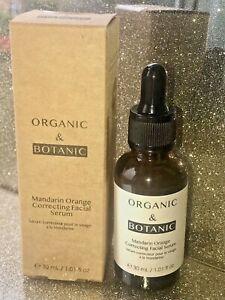 Dr Botanicals Organic & Botanic Mandarin Orange Correcting Facial Serum 30ml New