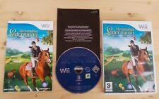 Alexandra Ledermann Le Haras de la Vallee Horsez Nintendo Wii complet