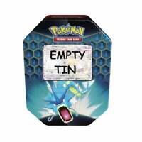 EMPTY Pokemon Card Storage Tin | Gyarados GX Empty Hidden Fates 2019 Collection