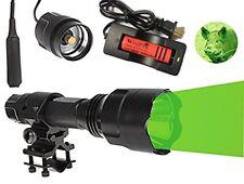 WindFire WF-C8 Tactical Flashlight 150 Yard Green LED Coyote Hog Hunting Light