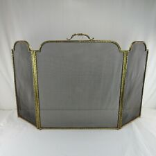Rare Antique Gilt Bronze French Folding Fireplace Screen William H Jackson Co NY
