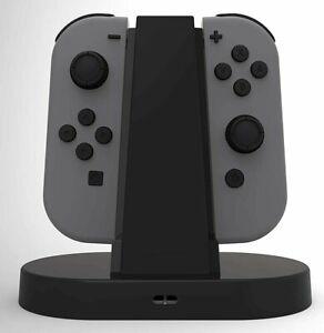 Nintendo Switch Joycon Joy Con Joy-Con Dual Charging Dock Tower Charger Grip NEW