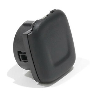 OEM NEW Center Console Power Outlet Cap Black 2014-2020 Chevrolet GMC Cadillac