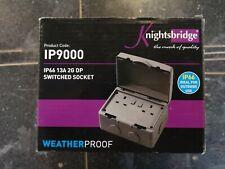 Knights ridge Weatherproof Double Socket IP66 13A 2G DP