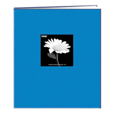 Pioneer MB811CBF 8-1/2x11 Fabric Memory Book Blue (Same Shipping Any Qty)