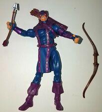 "Marvel Universe Series 5 #012 DARK HAWKEYE Loose 3.75"" Action Figure Hasbro 2013"