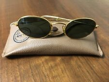 Vintage Ray Ban / Bausch & Lomb Oval Sunglasses Made In USA