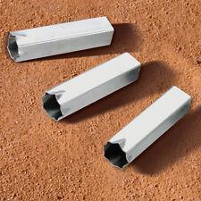 Standard Baseball Base Ground Anchors - Set of 3