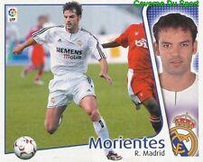 FERNANDO MORIENTES ESPANA REAL MADRID CROMO STICKER LIGA ESTE 2005 PANINI