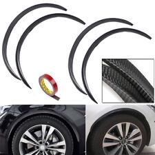 4x72cm Carbon Fiber Car Wheel Eyebrow Protector Decor Arch Trim Flare Fender Lip