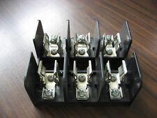 gould shawmut 60328j fuse block (3 pole, 30 amp, 600 volt)