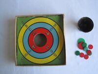 Vintage Game of Tiddly Winks Tiddlywinks Original Box & Contents
