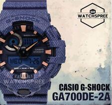 Casio G-Shock New Denim'd Color Limited Models Watch GA700DE-2A
