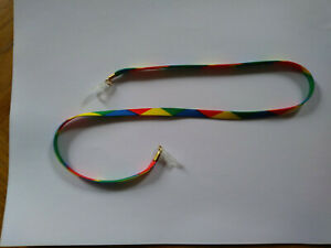 Fun in the Sun cotton sunglass cord with high quality loops - multicoloured