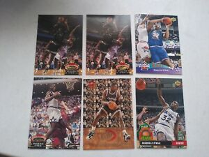 LOT OF (6) 1992-93 SHAQUILLE ONEAL RC ULTRA 7/10  STADIUM CLUB 201 Upper Deck