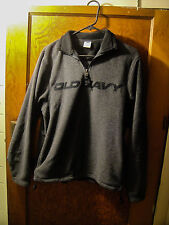 Old Navy 426 Dark Gray 1/2 Zip Pullover Size S Small Sweater
