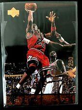 New listing 1998 Upper Deck MJx Timepieces Bronze #22 Michael Jordan Serial #200/230 Die Cut