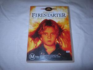 Firestarter - Charlie McGee - VGC - DVD - R4