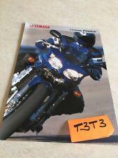 Yamaha FZS 1000 Fazer FZS 1000 moto prospectus brochure publicité prospekt pub