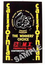 Mongoose old school BMX decals - Californian Chatsworth #9