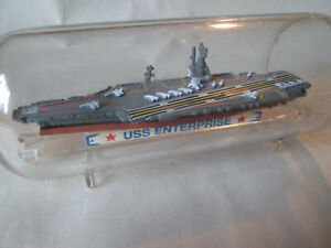 Micro Machines Ship in a Bottle #4 USS Enterprise Aircraft Carrier #7410 Galoob