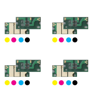 4x Toner Reset Chips Y/M/C/K für Konica Minolta Bizhub C3100 C3110 C3300i C3320i