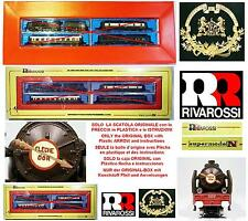 RIVAROSSI 9011 VINTAGE ONLY BOX SOLO SCATOLA FLECHE D'OR SNCF+GOLD ARROW SCALA-N