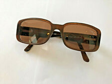CHANEL 5111 Brown Quilted Arm Camellia RX Sunglass Frame c.538 73 55.16 135 (G)