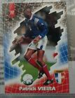 PANINI FOOT CARDS 98 VIEIRA PATRICK N°197 / COLLECTION FRANCE 98 RARE
