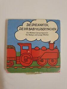 REKLAME WERBUNG verm. 60er 70er MOLTEX  Baby Windeln Vlieswindeln Spielkarten
