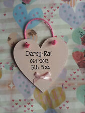 Heart Personalised Modern Decorative Plaques & Signs