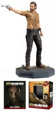 THE WALKING DEAD RICK GRIMES FIGURE WITH COLLECTORS MAGAZINE #1 EAGLEMOSS GIFT