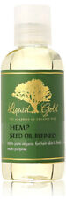 4 oz Hemp Seed Oil Refined Organic Cold Pressed Natural Skin Care Free Shipping