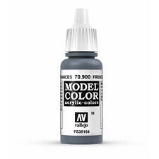 Vallejo Model Color: French Mirage Blue - VAL70900 Acrylic Paint 17ml Bottle 059