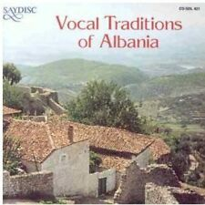 Vocal Traditions Of Albania (2011, CD NEUF)