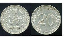 BOLIVIE   20 centavos 1967  ( bis )