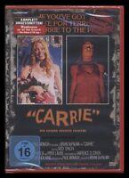 DVD CARRIE - HORROR CULT - SISSY SPACEK + JOHN TRAVOLTA - STEPHEN KING ** NEU **