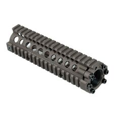 Tactical Free Float 7 inch Coyote Brown Handguard Quad Rail System for Airsoft