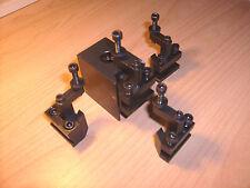 Schnellwechselstahlhalter neu f. Drehmaschine C1 o. ä. quick change holder