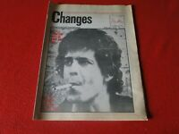 Vintage Rock N Roll Newspaper Pulp Magazine Changes Feb. 1975 Lou Reed        P2