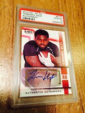 2014 Sage Hit Terrance West #a101 Rookie Autograph AUTO RC PSA 10 Gem Mint
