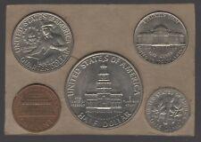 More details for 1976 u.s.a. bicentennial design cased mint set   world coins   pennies2pounds