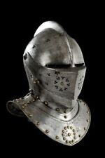 18ga Medieval Combat Close Helmet Bettlefield/Halloween Costume Cosplay A32