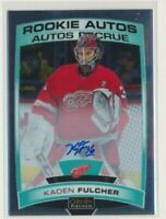 2019-20 O-Pee-Chee Platinum Rookie AUTOS R-KF Kaden Fulcher Red Wings