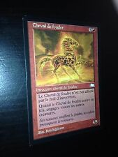 MTG MAGIC WEATHERLIGHT THUNDERMARE (FRENCH CHEVAL DE FOUDRE) NM