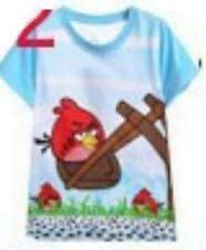 Brand New with tags boys blue Angry Birds short sleeve t shirt size 2