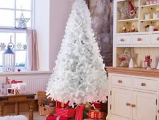 Traditional Artificial Pine Christmas Tree With Metal Stand Xmas Tree 5/6/7ft